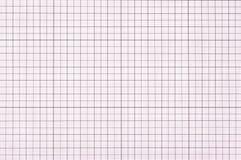violet millimeterpapier Royalty-vrije Stock Afbeeldingen