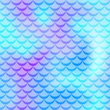 Violet mint mermaid skin  background. Cold gamma iridescent background. Fish scale pattern. Royalty Free Stock Images