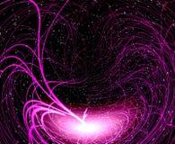 Violet misty light Stock Photo