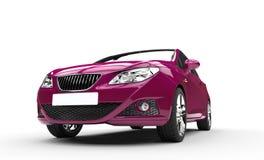 Violet Modern Car Arkivbild