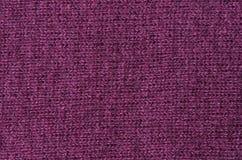 Violet mohair woven texture Stock Photos