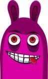 Violet monster(104).jpg Royalty Free Stock Images