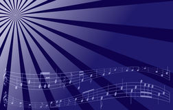 Violet music background - vector Royalty Free Stock Photos