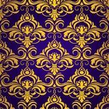 Violet naadloos behang Stock Illustratie