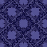 Violet naadloos ornament Vector Illustratie