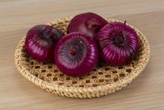 Violet onion Royalty Free Stock Photos
