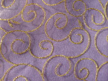 Violet organza fabric texture Stock Photo