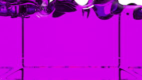 Violet paint fills screen, alpha channel included like luma matte. 3d render 9.  vector illustration
