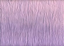 Violet paper. Crumpled violet paper for background Stock Photos