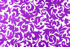 Violet paper pattern. White background with violet pattern Stock Photography