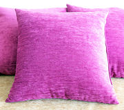 Violet pillow Royalty Free Stock Photos