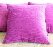 Violet pillow Royalty Free Stock Photos