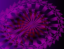 Violet Pinwheel Stock Photography