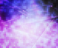 Violet Pixels Abstract Background Stock Photos