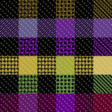 Violet plaid background Royalty Free Stock Photos