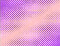Violet pop art comic halftone background vector. Purple Royalty Free Stock Photo