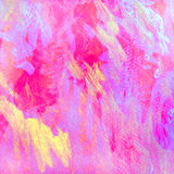 Violet purple abstract painting by oil on canvas for interior, i Stock Photo