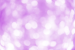 Violet and purple blur abstract bokeh backgound. Form streamer Stock Photography