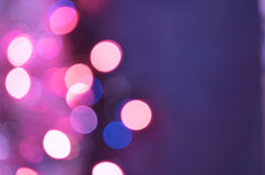 Violet purple bokeh abstract background Royalty Free Stock Image