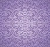 Violet purple Floral  vintage seamless pattern background Royalty Free Stock Photo