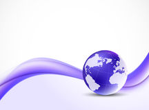 Violet purpule background Stock Photography