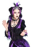 Violet queen Stock Photo