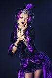 Violet queen Stock Photos