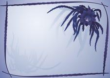 violet ramowy kwiatów royalty ilustracja