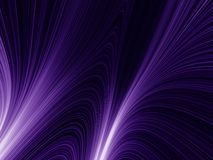 Violet rays Royalty Free Stock Image