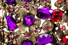 Violet and red bracelet Royalty Free Stock Image