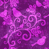 Violet repeating pattern royalty free stock photo
