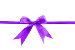Violet  ribbon Royalty Free Stock Photos
