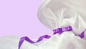 Violet ribbon Royalty Free Stock Photo
