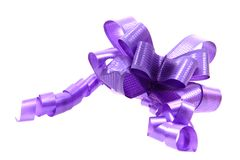 Violet ribbon Royalty Free Stock Image