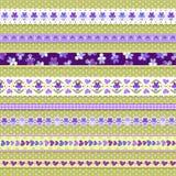 Violet ribbons royalty free illustration