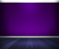 Violet Room Royalty Free Stock Photography