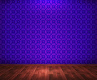 Violet Room Background Royalty Free Stock Image