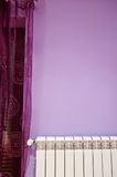 Violet room detail Royalty Free Stock Photos