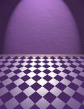 Violet room Stock Images