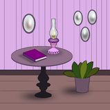 Violet Room Royalty Free Stock Image