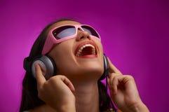 violet rytmu Fotografia Stock