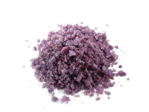 Violet salt spa Royalty Free Stock Image