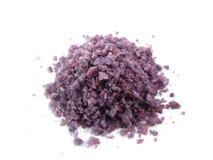 Violet salt spa Royalty Free Stock Image