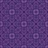 Violet seamless pattern Stock Photos
