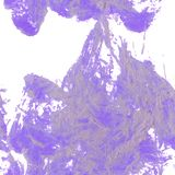 Violet seamless pattern. For creative background, made from oil painting in vector Royalty Free Stock Image