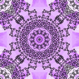 Violet seamless print Royalty Free Stock Images