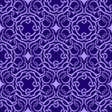 Violet seamless wallpaper Royalty Free Stock Image