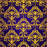 Violet seamless wallpaper Stock Photography