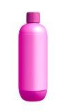 Violet shampoo dispenser pump plastic bottle Royalty Free Stock Images