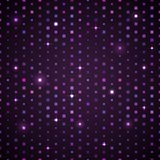 Violet Shiny Pattern escura Imagens de Stock Royalty Free